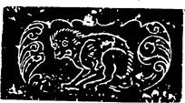 猴子古老壁画