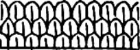 简单线描横行镂空花纹素材