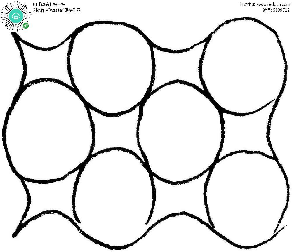 简约几何线条背景图