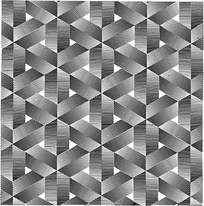 几何黑白阴影叠加拼图