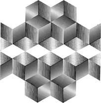 几何立方体花纹