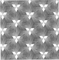 几何阴影组合花纹