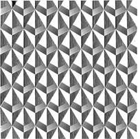 三角阴影菱形花纹