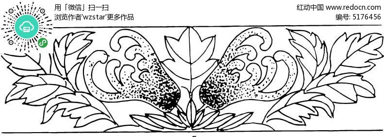 简笔画手绘中国风