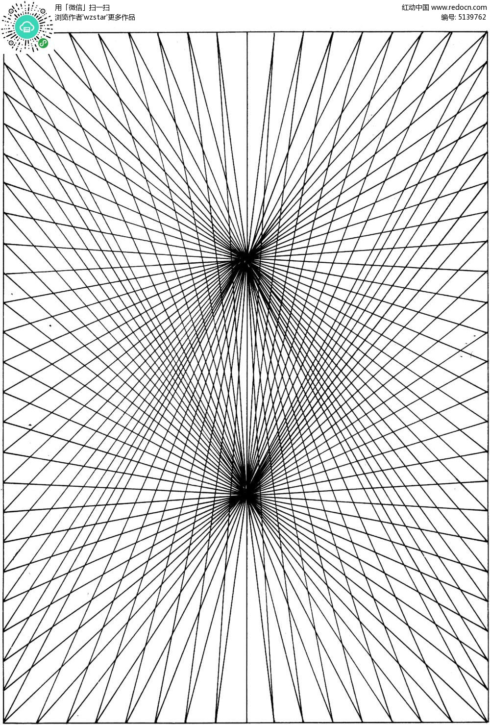 手绘线条图形
