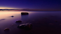 唯美落日风景图