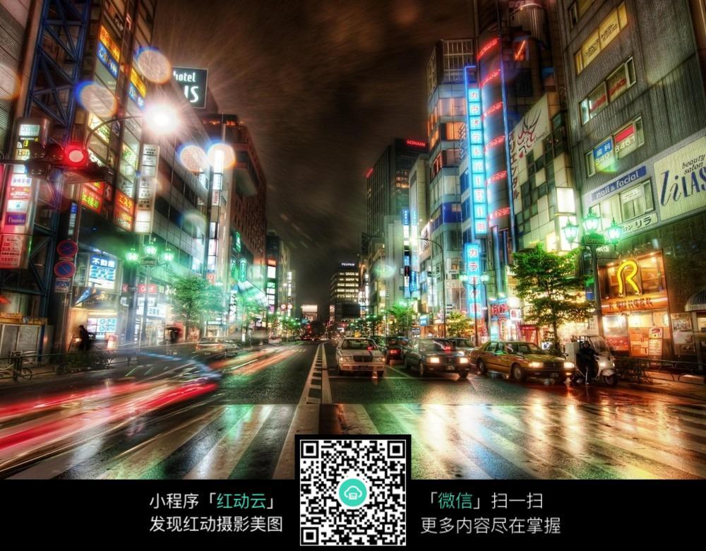 夜景街道图片免费下载 编号5186184 红动网图片