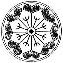 圆形风格线条花纹矢量素材