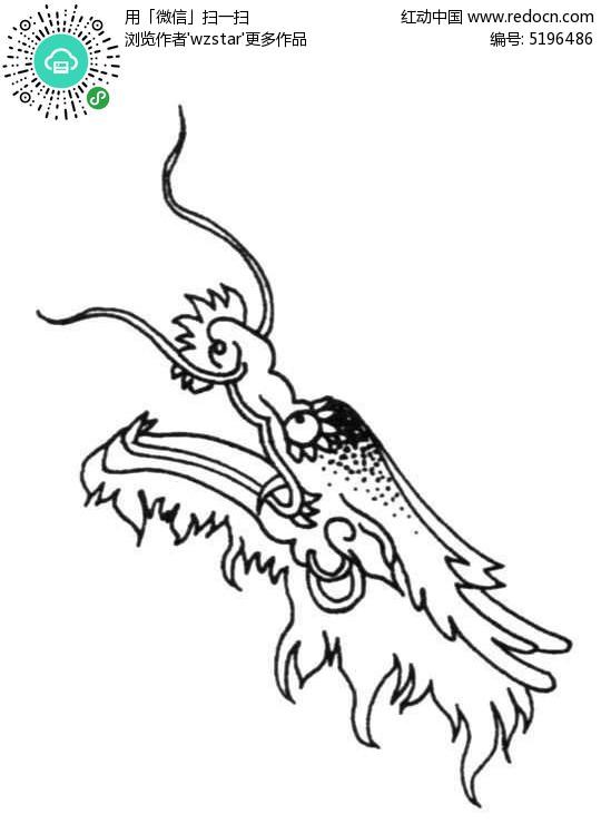 龙头手绘彩铅画