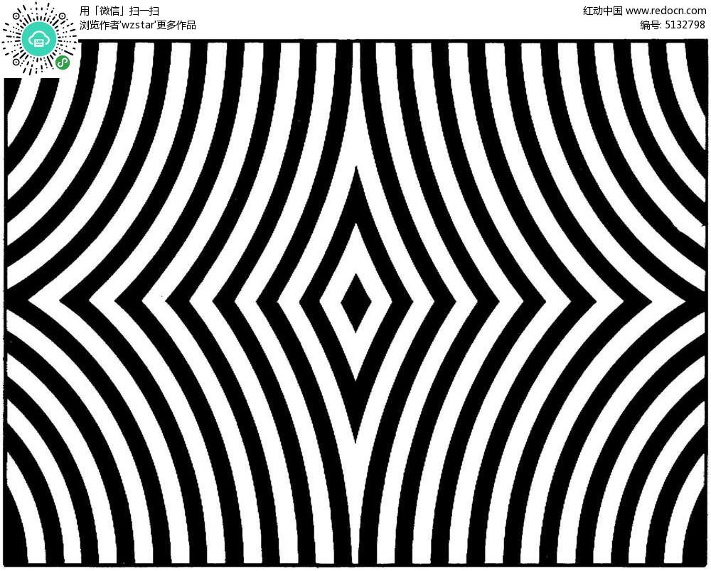 对称平面构成素材