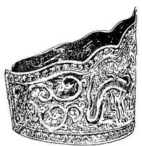 古典皇冠龙纹