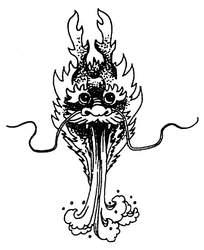 黑白龙吐水插图