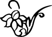简单花朵矢量花纹素材下载