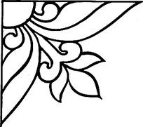 简单三角形花纹图案矢量素材下载图片