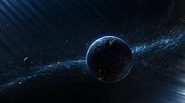 美丽蓝色星球图片素材