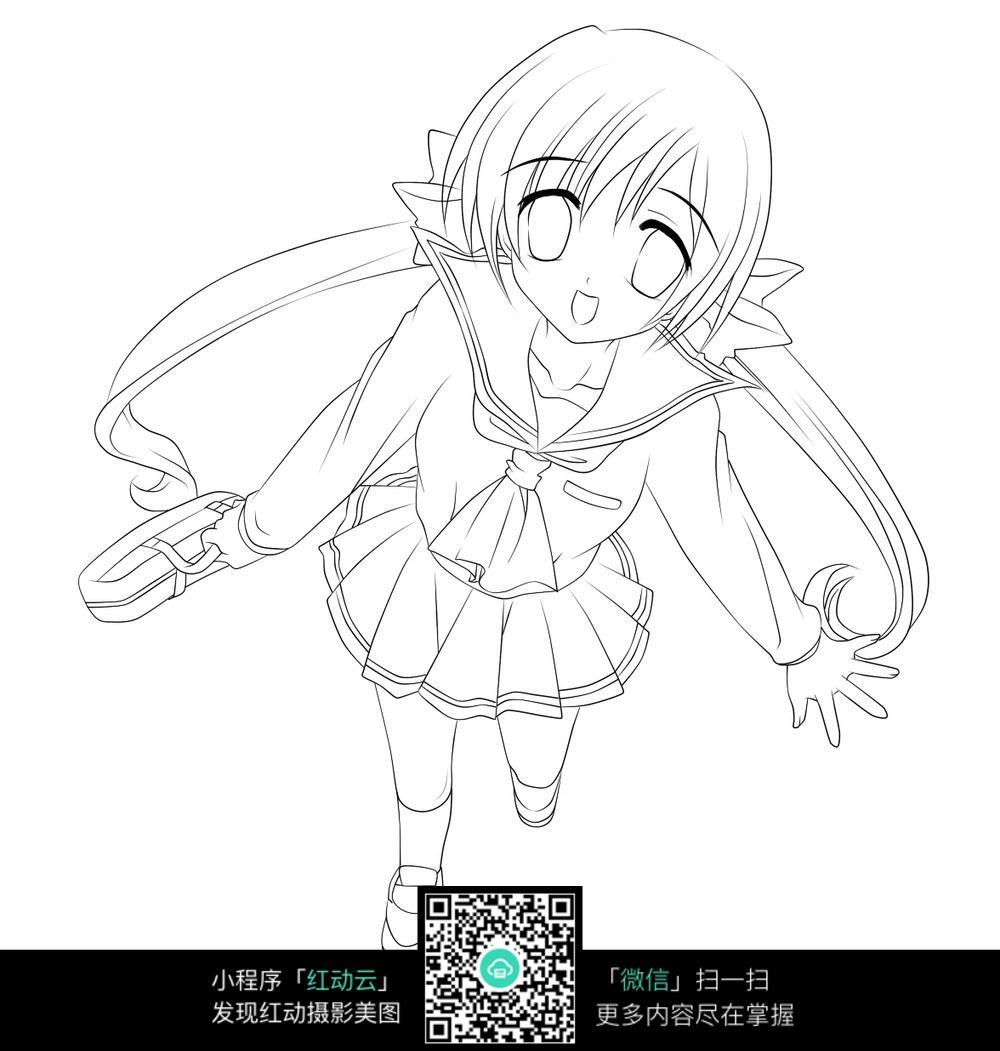 美少女卡通漫画