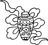手绘瓶子团