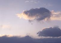 霞光天空风景
