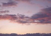 霞光自然天空风景