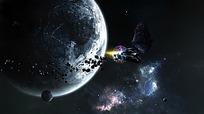 小星系图片素材