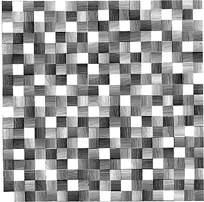 方形阴影组合花纹