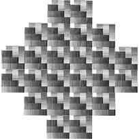 方形阴影组合图形