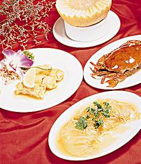 饭桌上的菜肴