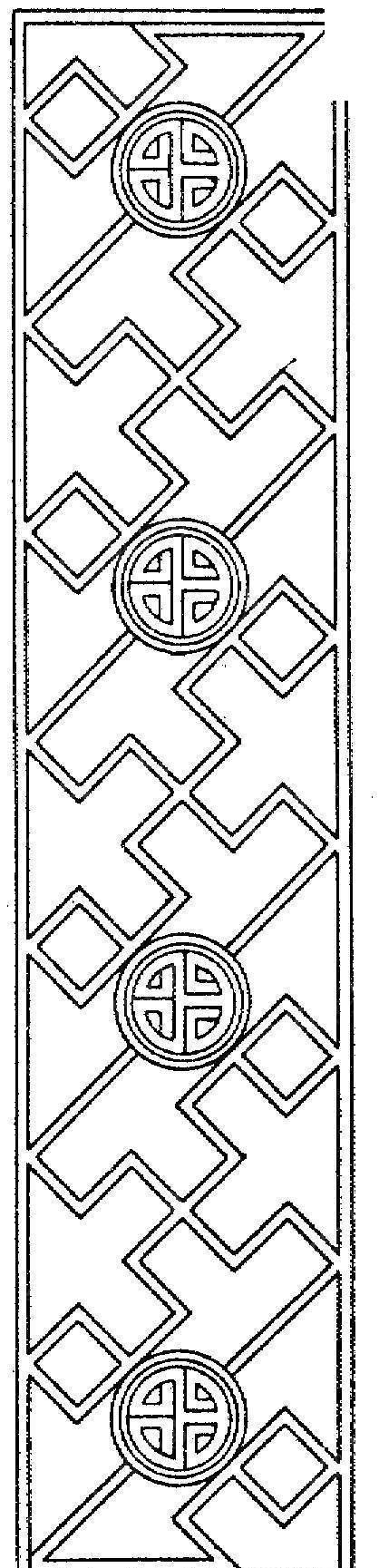 福寿图案古典花边 中式古典边框花纹图片