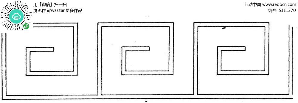简约古典装饰边框 中式古典边框花纹图片