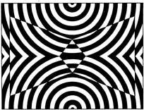 几何对称黑白花纹