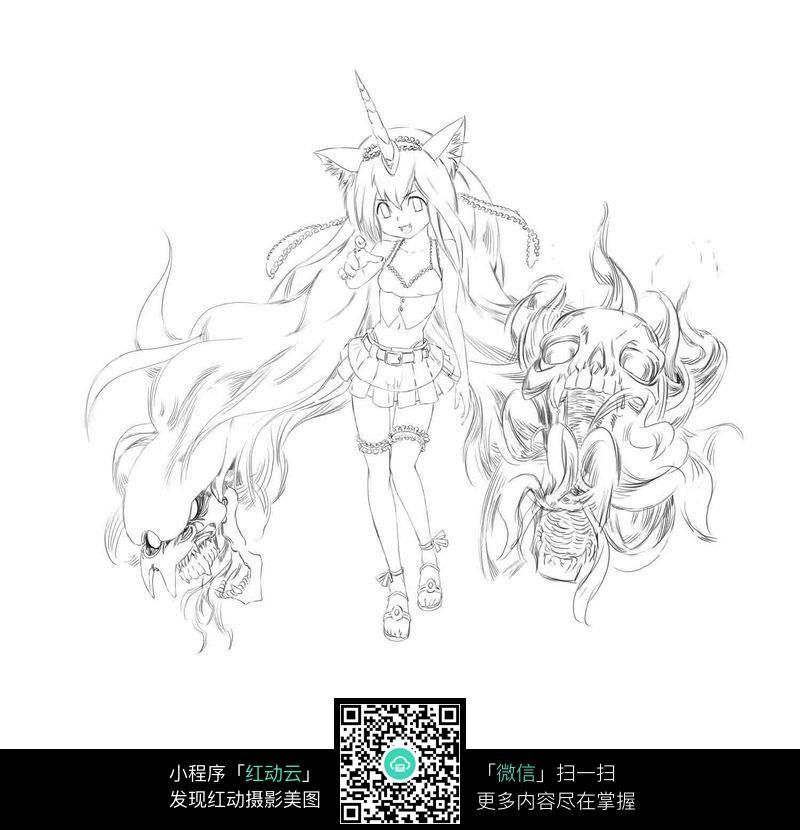 JPG美儿童漫画图片免费下载大全幽默漫画少女图片