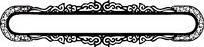 圆角对称横行镂空装饰矢量花纹图案