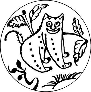 圆形动物叶子图案AI素材免费下载 编号5203312 红动网图片