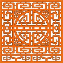 中式花格图案