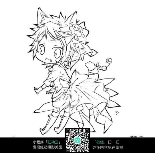 q版狐狸少女