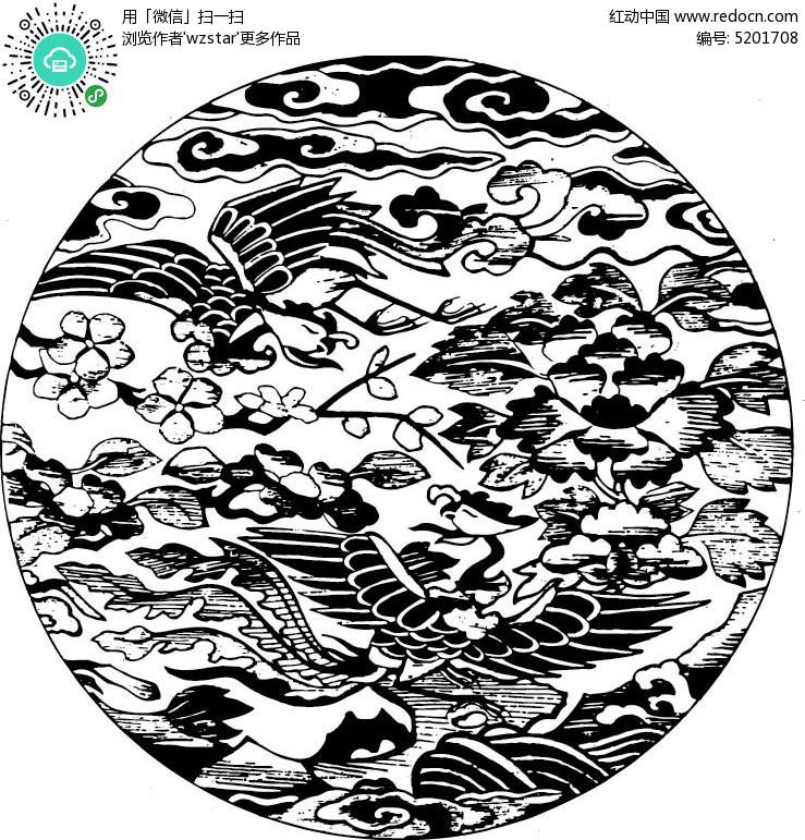 中式古典花纹图片