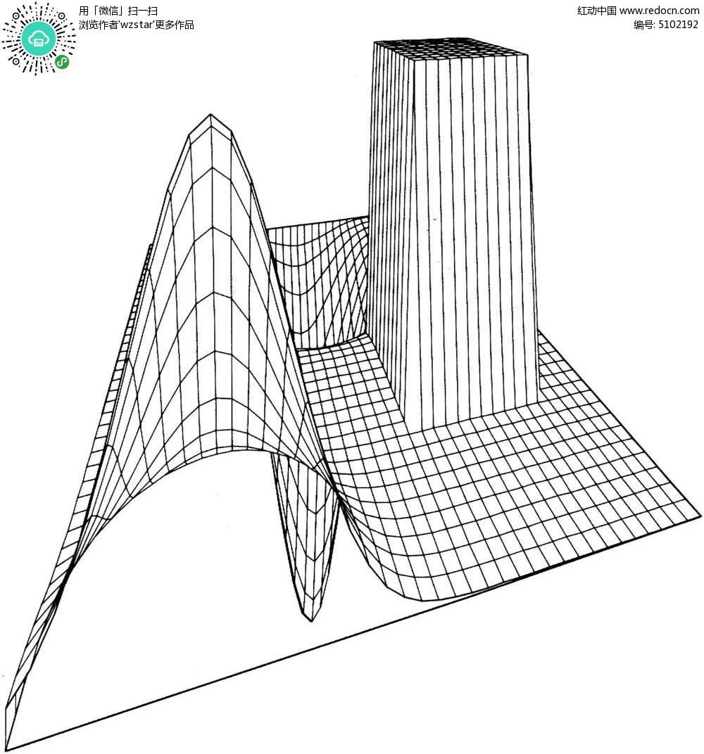 工程图 简笔画 平面图 手绘 线稿 1000_1052