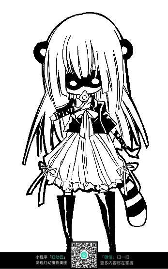 漫画女孩_人物卡通图片
