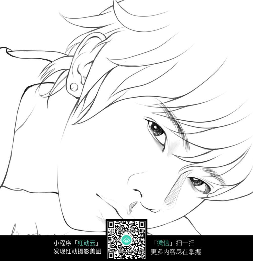 免费素材 图片素材 漫画插画 人物卡通 手绘男人的头像  请您分享: 素