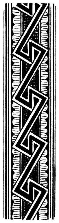 长条几何 花边花纹 欧式古典装饰
