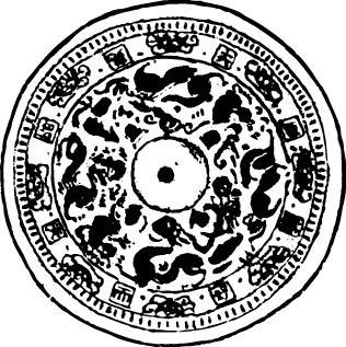 中式圆形装饰花纹图片