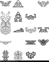 各种花纹设计