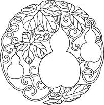 葫芦图案装饰