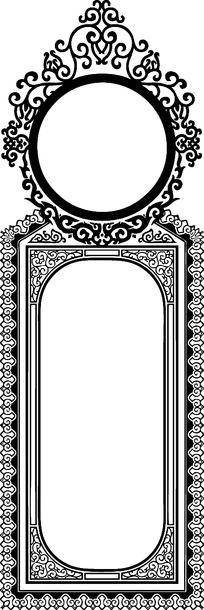 欧式花边花纹矢量素材图片_欧式花边花纹矢量设计素材