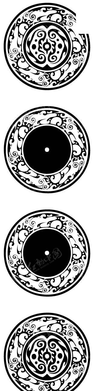 圆形欧式装饰图案图片图片