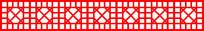 八边形镂空边框剪纸图案参考