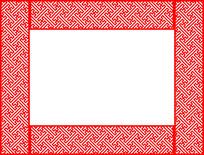 边框镂空花纹参考