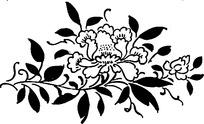 创意花卉图案矢量图
