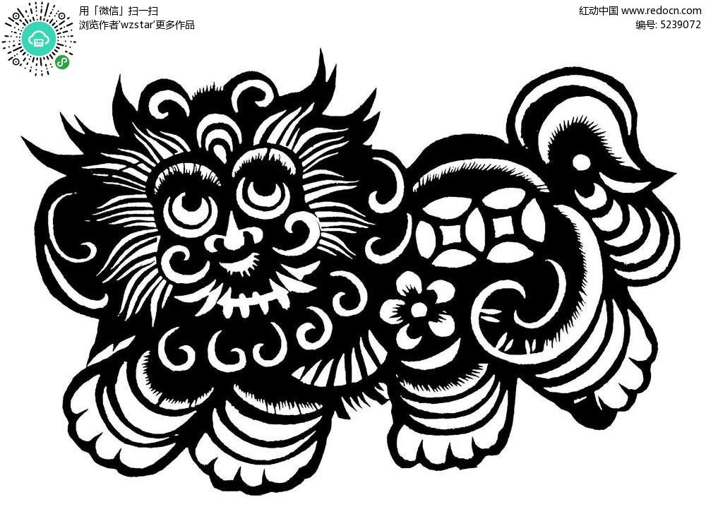 花边素材 插画图片  中国手工艺术 装饰 刻纸 传统图案 工艺品 矢量图片