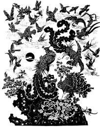 凤凰群鸟图